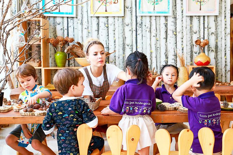 little foot kindergarten môi trường học tập toàn diện 6