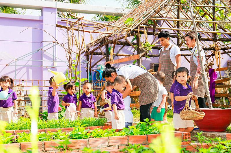 little foot kindergarten môi trường học tập toàn diện 4