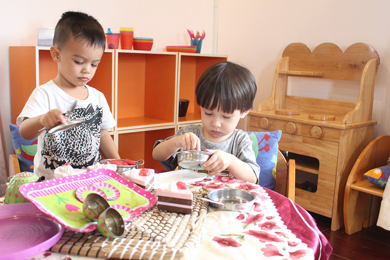 little foot kindergarten môi trường học tập toàn diện 3