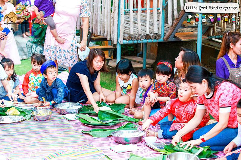 little foot kindergarten dự án học tập 2