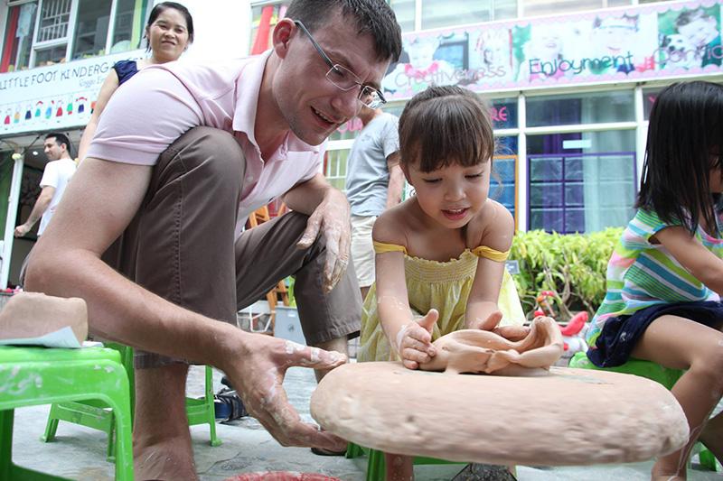 little foot kindergarten nghệ thuật