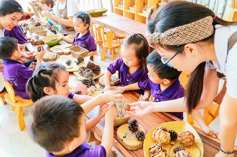 little foot kindergarten phương pháp tiếp cận